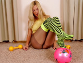 naked blondes pantyhose